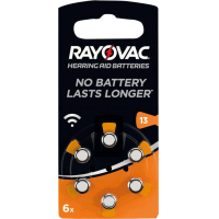 Rayovac Knopf Acoustic S.13 6-er Blister